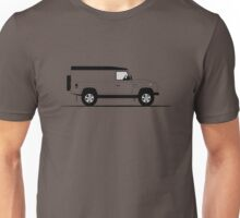 A Graphical Interpretation of the Defender 110 Hard Top Unisex T-Shirt