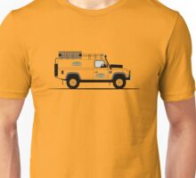 A Graphical Interpretation of the Defender 110 Hard Top Camel Trophy Unisex T-Shirt