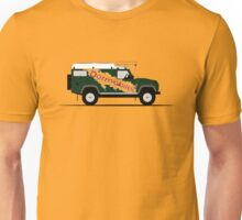 A Graphical Interpretation of the Defender 110 Hard Top Dormobile Unisex T-Shirt