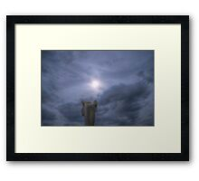 Under A Sky No One Sees Framed Print