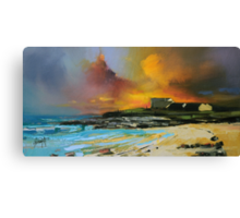 Isle of Barra hotel Canvas Print