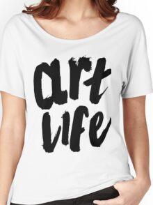 ART LIFE Women's Relaxed Fit T-Shirt
