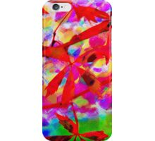 Canvas Art - Digital Background - Autumn Leaves iPhone Case/Skin