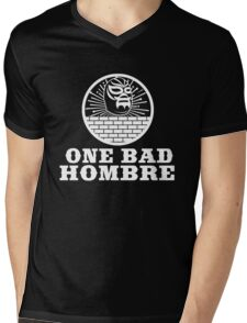 One Bad Hombre - Bad Hombres T Shirt and Merchandise Mens V-Neck T-Shirt