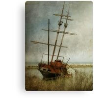 Echoes of piracy Canvas Print