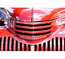 Chevrolet Truck Photographic Print
