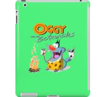 oggy and the cockroaches iPad Case/Skin