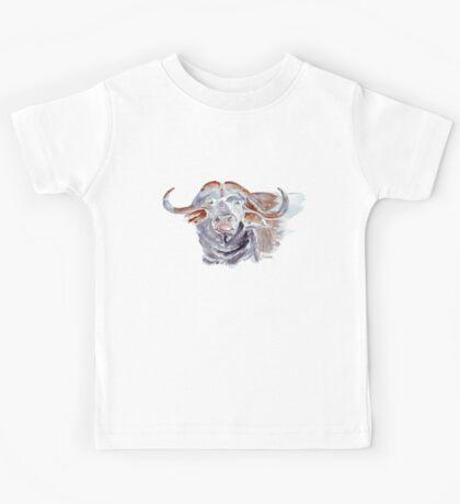 African buffalo or Cape buffalo (Syncerus caffer) Kids Tee
