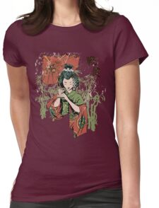 Japan girl Womens Fitted T-Shirt