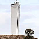 Lighthouse, Cape Jervis, South Australia by Stephen Mitchell
