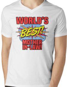 World's Best Mother-In-Law Mens V-Neck T-Shirt