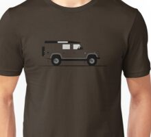 A Graphical Interpretation of the Defender 110 Utility Station Wagon XTech Unisex T-Shirt