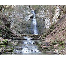 Creek Canyon Waterfall Photographic Print
