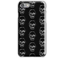 BLACK SKULL iPhone Case/Skin
