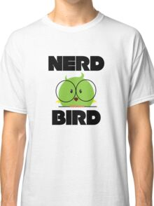 Nerd Bird with glasses Classic T-Shirt