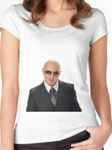Pitbull Women's Fitted Scoop T-Shirt
