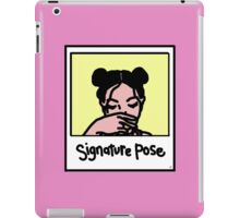 SIGNATURE POSE iPad Case/Skin