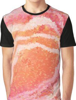 Orange Sherbet Candy Graphic T-Shirt