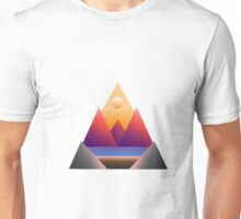 Triangles for days • Morning View Unisex T-Shirt