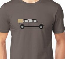 Graphical Interpretation of the Defender 147 Triple Cab Pick Up Unisex T-Shirt