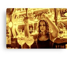 Another Mojito, Please... Canvas Print
