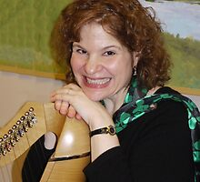 Irish Harpist by Kenneth Hoffman