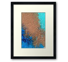 All That Glitters in The Sea  Framed Print
