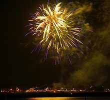 Fireworks from Last Night 2014 July 4th by TJ Baccari Photography