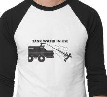 Tank Water in Use Men's Baseball ¾ T-Shirt