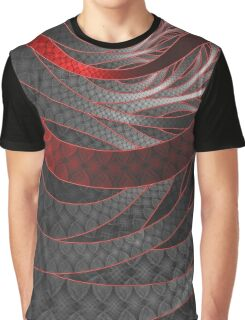 Corded Crimson Scales in the Eye of the Vampire Graphic T-Shirt