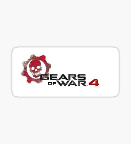 Gears of War 4 LOGO Sticker