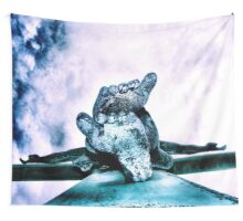 gently off the edge Wall Tapestry