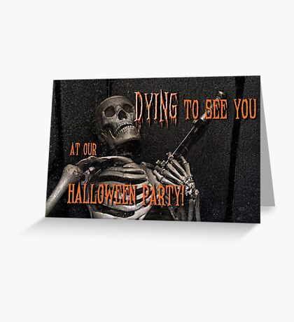 Halloween invitation Greeting Card