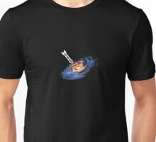 "Outer Space Shirt - ""You Are Here"" with Galaxy Unisex T-Shirt"