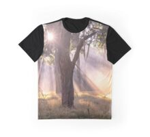 Light Streaming through trees Graphic T-Shirt
