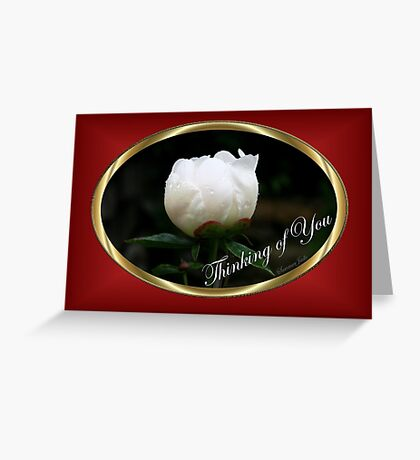 On a Rainy Day... I'm Missing You Greeting Card