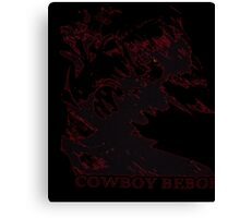 Cowboy Bebop: Spike in Motion Red T-Shirt Canvas Print
