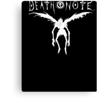 Ripple Junction Death Note Ryuk Silhouette Adult T-shirt Canvas Print