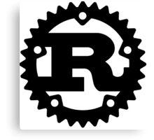 Rust Programming Language Logo Canvas Print