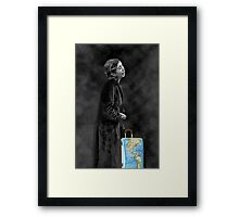 █ ♥ █ TEARS OF A BATTERED WOMAN--THERE IS HELP TO PUT THE PIECES BACK TOGETHER-HELP END ABUSE-U DESERVED TO BE LOVED HUGS █ ♥ █  Framed Print