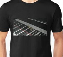 Grand Piano Reflections Unisex T-Shirt