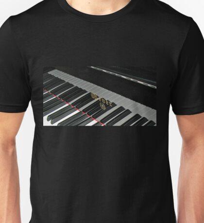 Grand Piano Reflections Unisex T-Shirt
