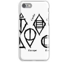 Skyrim Shadowmarks iPhone Case/Skin