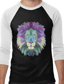 Lion Animals Men's Baseball ¾ T-Shirt