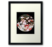 Little White Flowers Framed Print