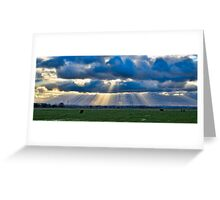 Sunbeams over Sheppey Greeting Card