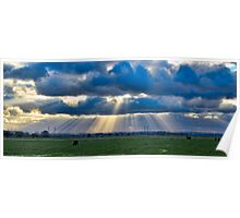 Sunbeams over Sheppey Poster
