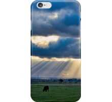 Sunbeams over Sheppey iPhone Case/Skin