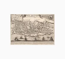 Vintage Pictorial Map of New York City (1672) T-Shirt