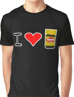 I Love Vegemite Graphic T-Shirt